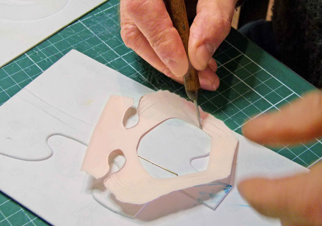 Moulding face and Birthday Card Ideas