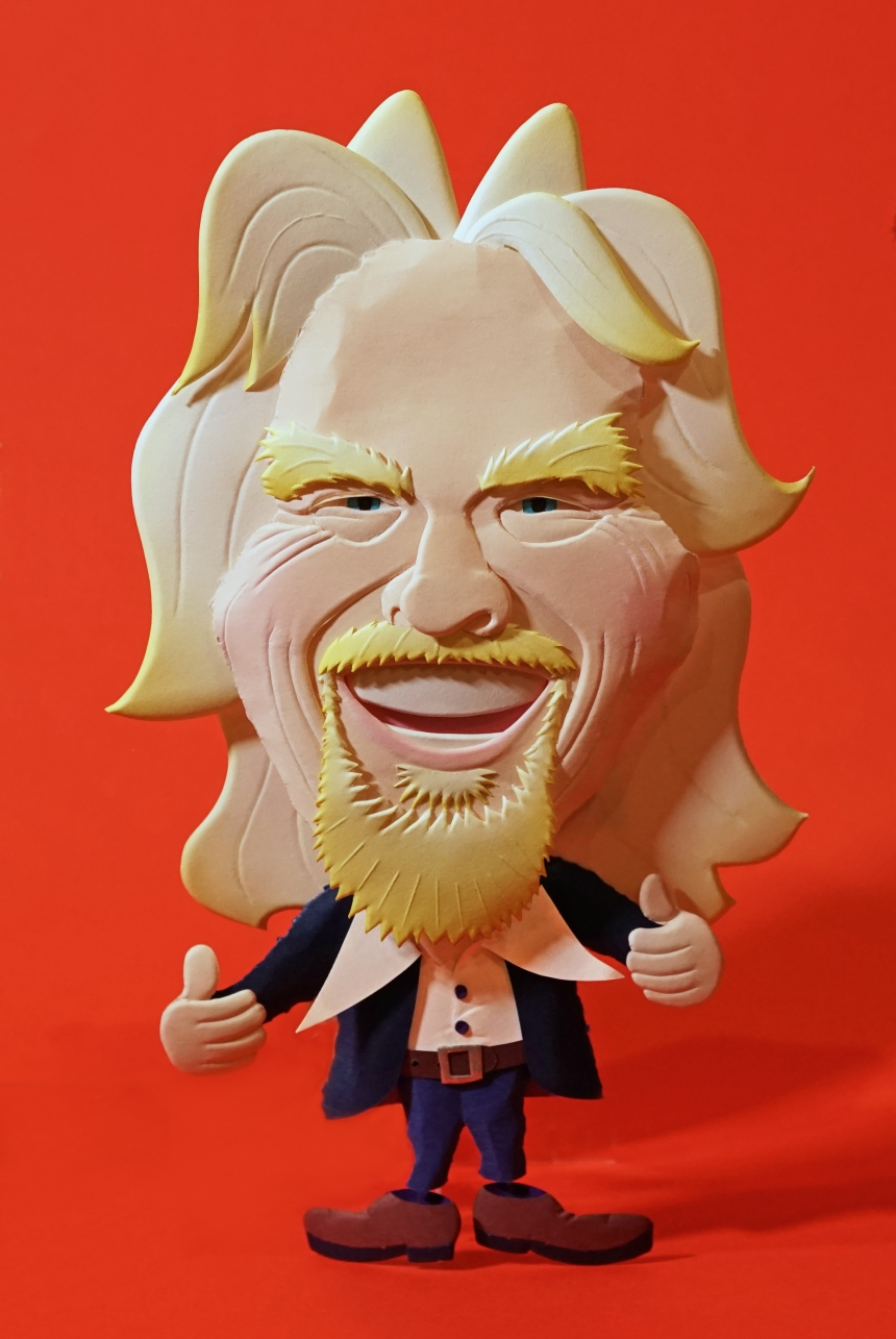 Richard Branson Standing MR
